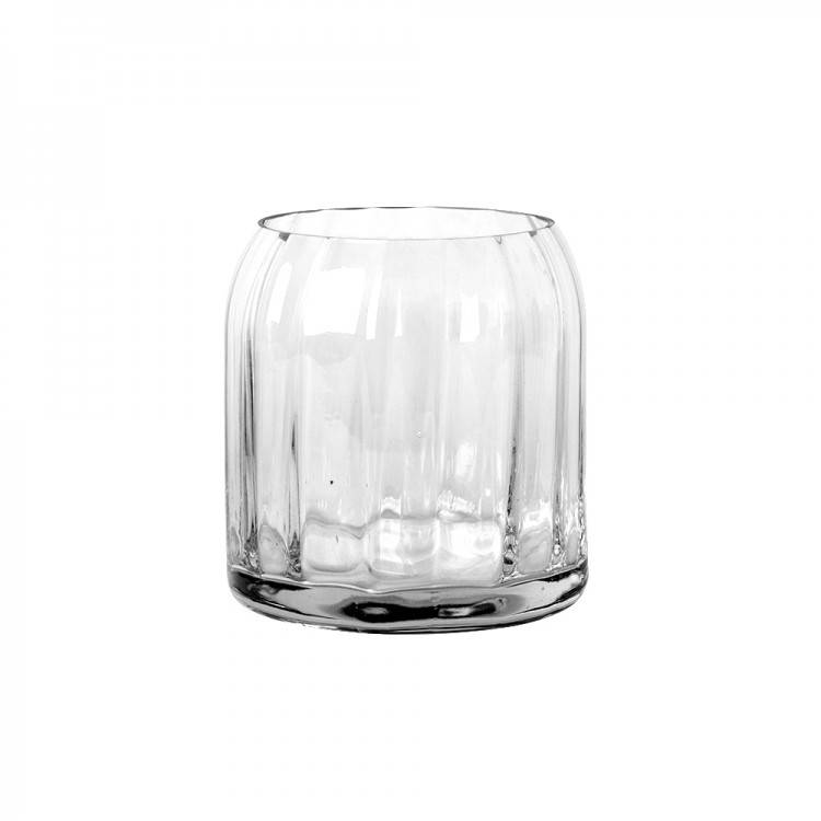 HOME SOCIETY Glass Vase Facet M