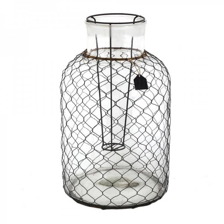 LIL Glass Wire Lantern L
