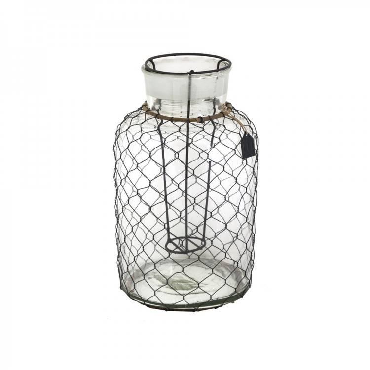 LIL Glass Wire Lantern S