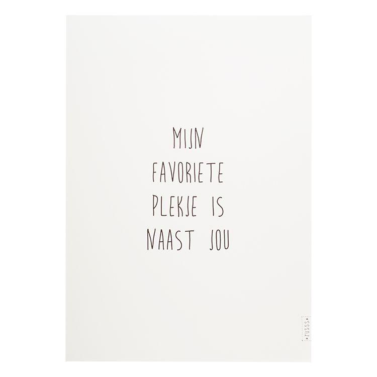 Zusss A3 poster,