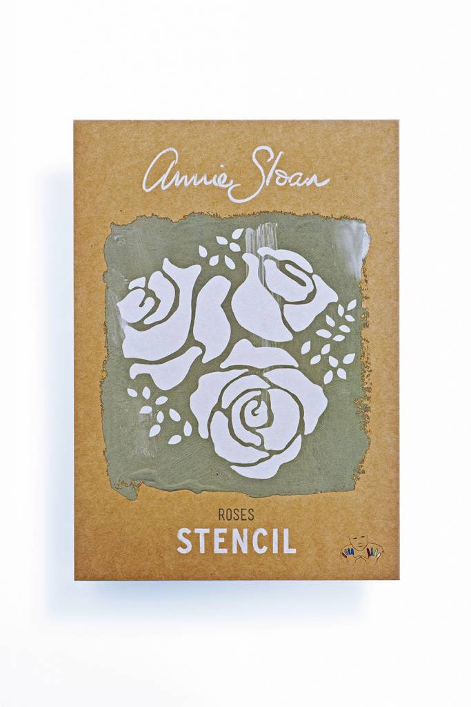 Annie Sloan Sjabloon A4: Roses