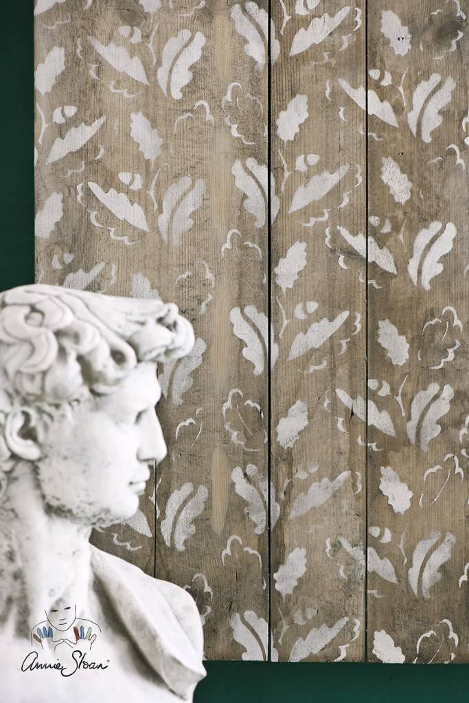 Annie Sloan Sjabloon A3: Oak leaves