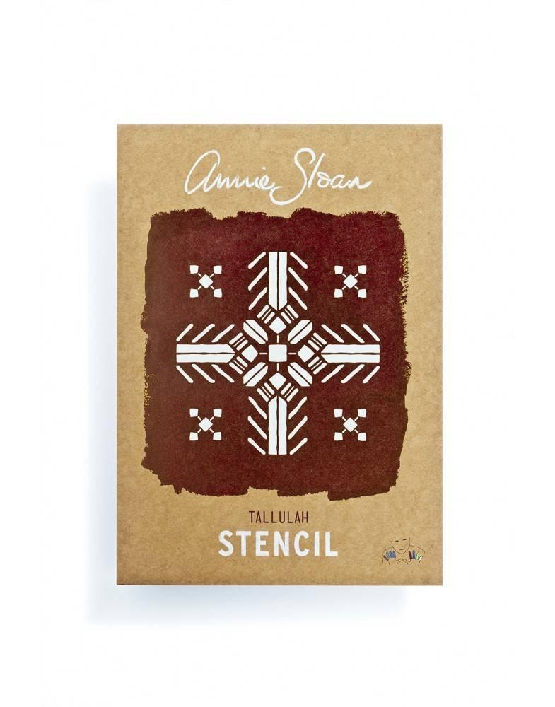 Annie Sloan Sjabloon A4: Tallulah