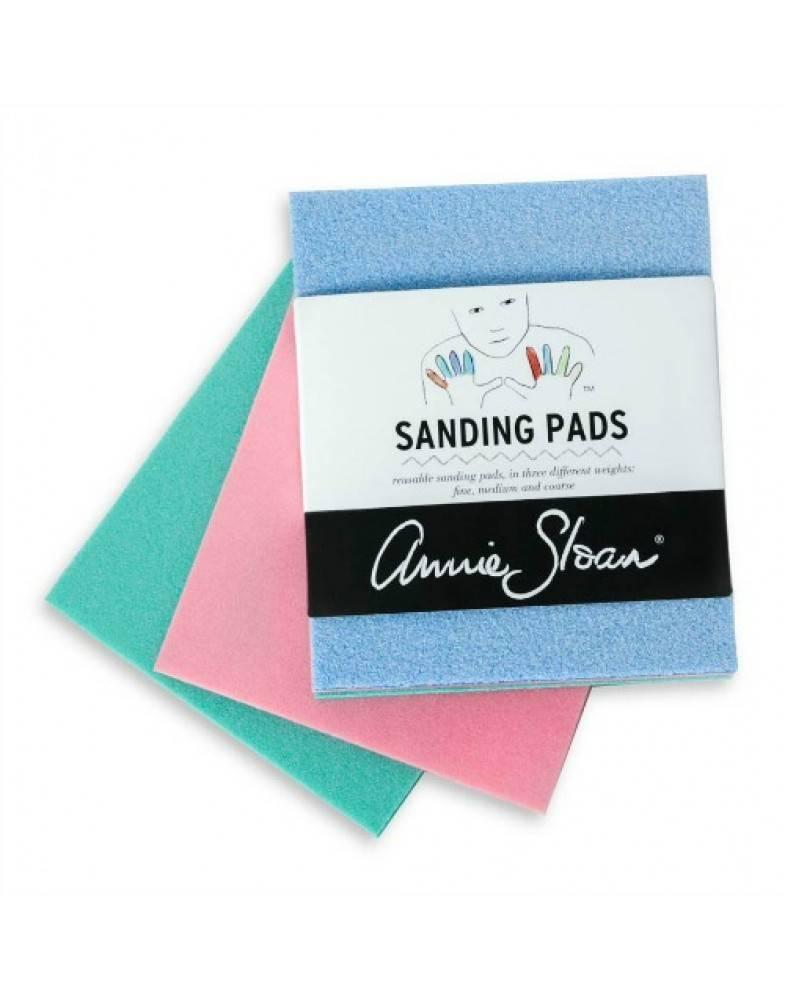 Annie sloan sanding pads schuur matjes maison et moi for Maison pad