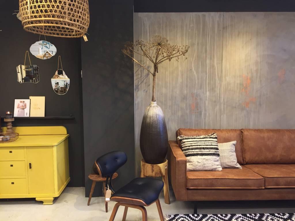 Hoe maak je een betonlook muur met chalkpaint van annie sloan maison et moi - Hoe kleed je een witte muur ...