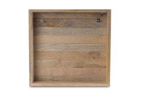 houten frame  34,5 x 34,5 cm