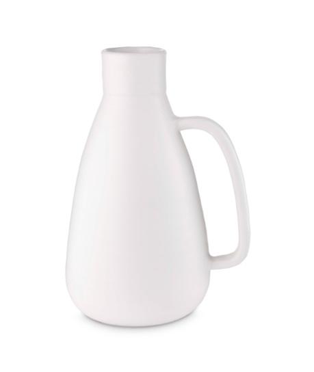 vt wonen Kruik Keramiek matt white 36 cm