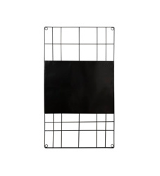 vt wonen Magnetic Memobord Wire 60x105cm