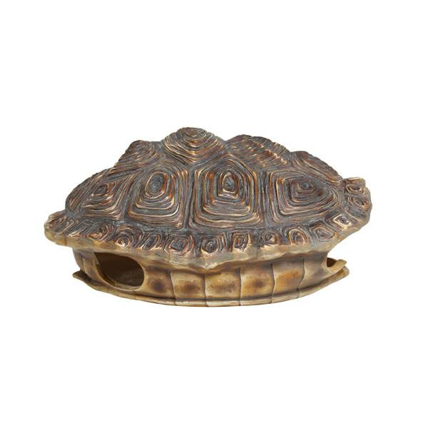 HKliving Schildpaddenschild groen/bruin, 27 cm kunstmatig