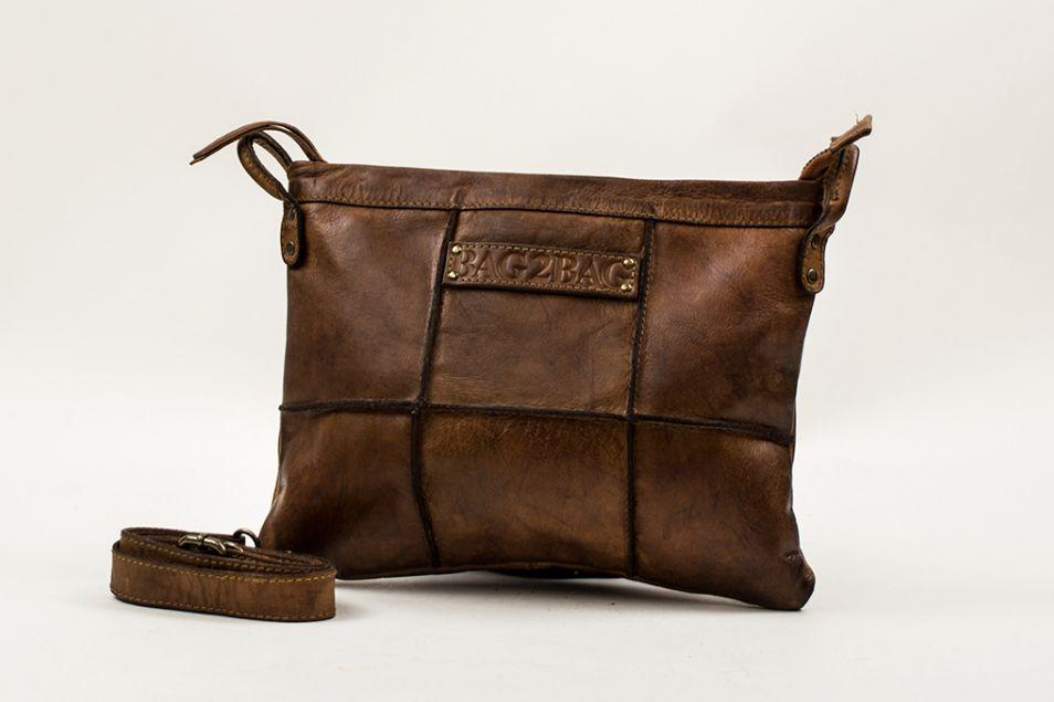 Bag2Bag Georgia Clutch bruin