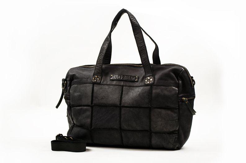 Bag2Bag Georgia laptoptas zwart