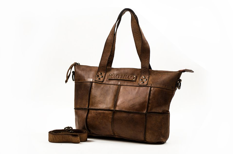 Bag2Bag Georgia ladiesbag bruin