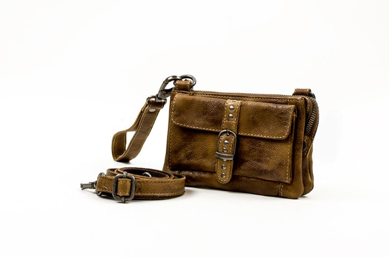 Bag2Bag Albury tasje bruin