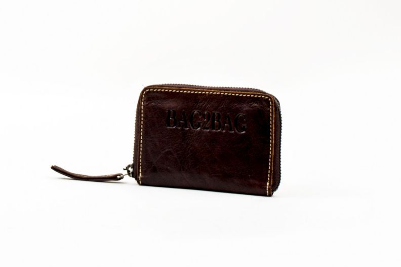 Bag2Bag City Wallet brandy