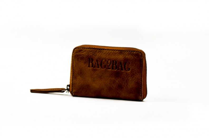 Bag2Bag City Wallet cognac