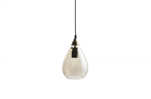 BePureHome Simple hanglamp glas medium antique brass