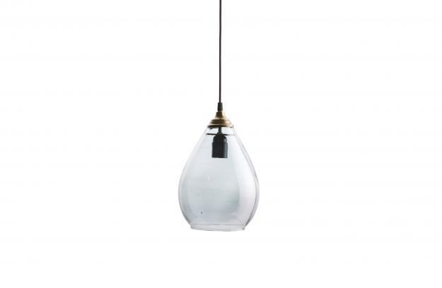 BePureHome Simple hanglamp glas large grijs