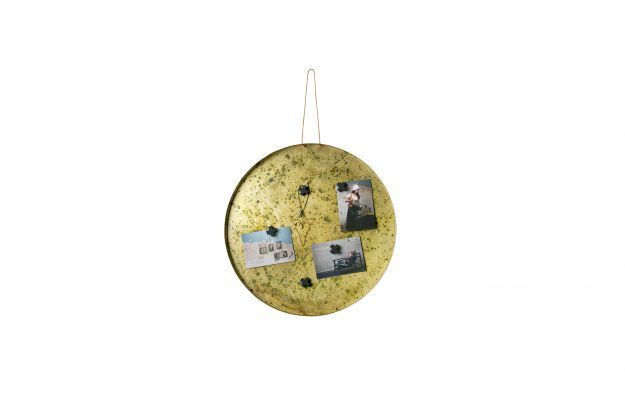BePureHome Memories magneetbord 50cm antique brass