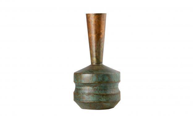 BePureHome Chimney metalen vaas antique copper