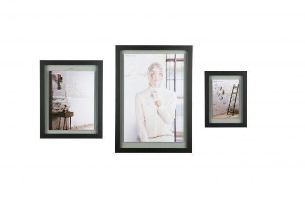 BePureHome Shift fotolijst met houten rand x-large 70x50