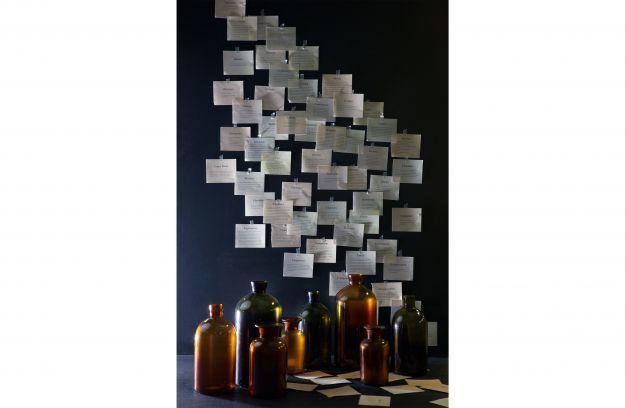 BePureHome Chemistry glazen vaas large olive 15x30