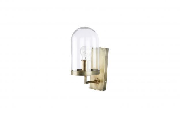 BePureHome Cover up wandlamp antique brass
