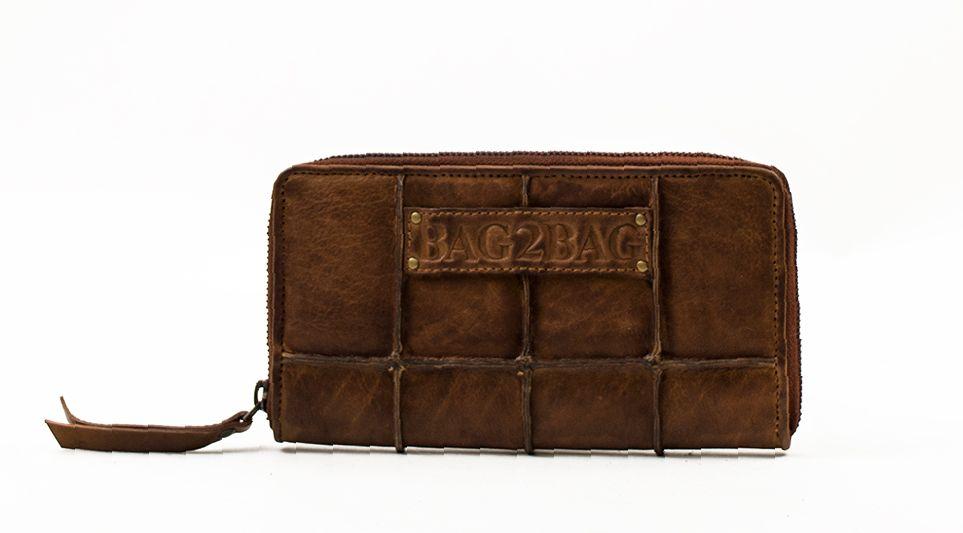 Bag2Bag Georgia Wallet bruin