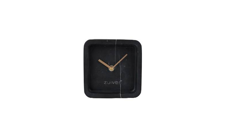 Clock luxury time marble black