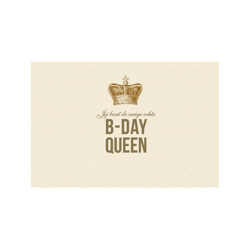 Enfant Terrible Kaart Vintage 1912 B-day queen