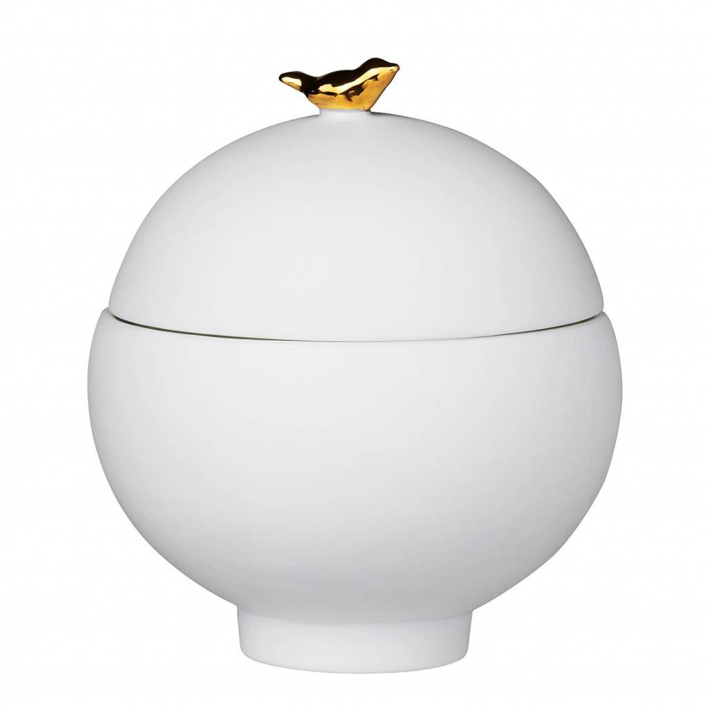 Räder Bird Can , Porcelain story