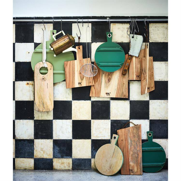HKliving Broodplank rond S Forest Green