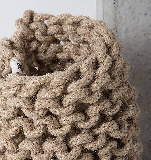 UNC URBAN NATURE CULTURE AMSTERDAM Tribal Crochet Vase Small