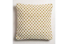 Cushion weave saffran 45x45cm