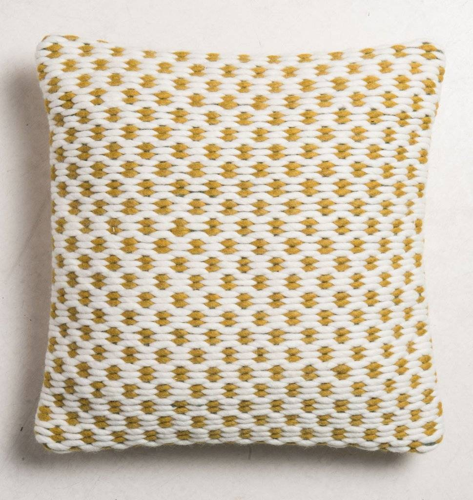 UNC URBAN NATURE CULTURE AMSTERDAM Cushion weave saffran 45x45cm