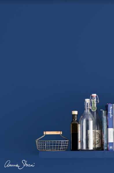 Annie Sloan Wallpaint, Napoleonic Blue: 2,5l - 100 ml 100ML