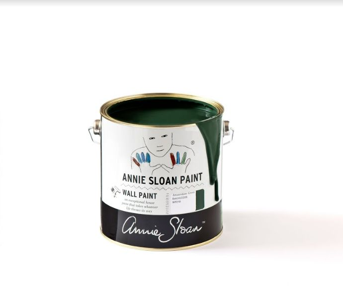 Annie Sloan Wallpaint, Amsterdam Green: 2,5l - 100 ml 2,5 Liter