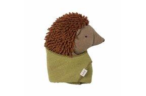 Little Hedgehog with Leaf