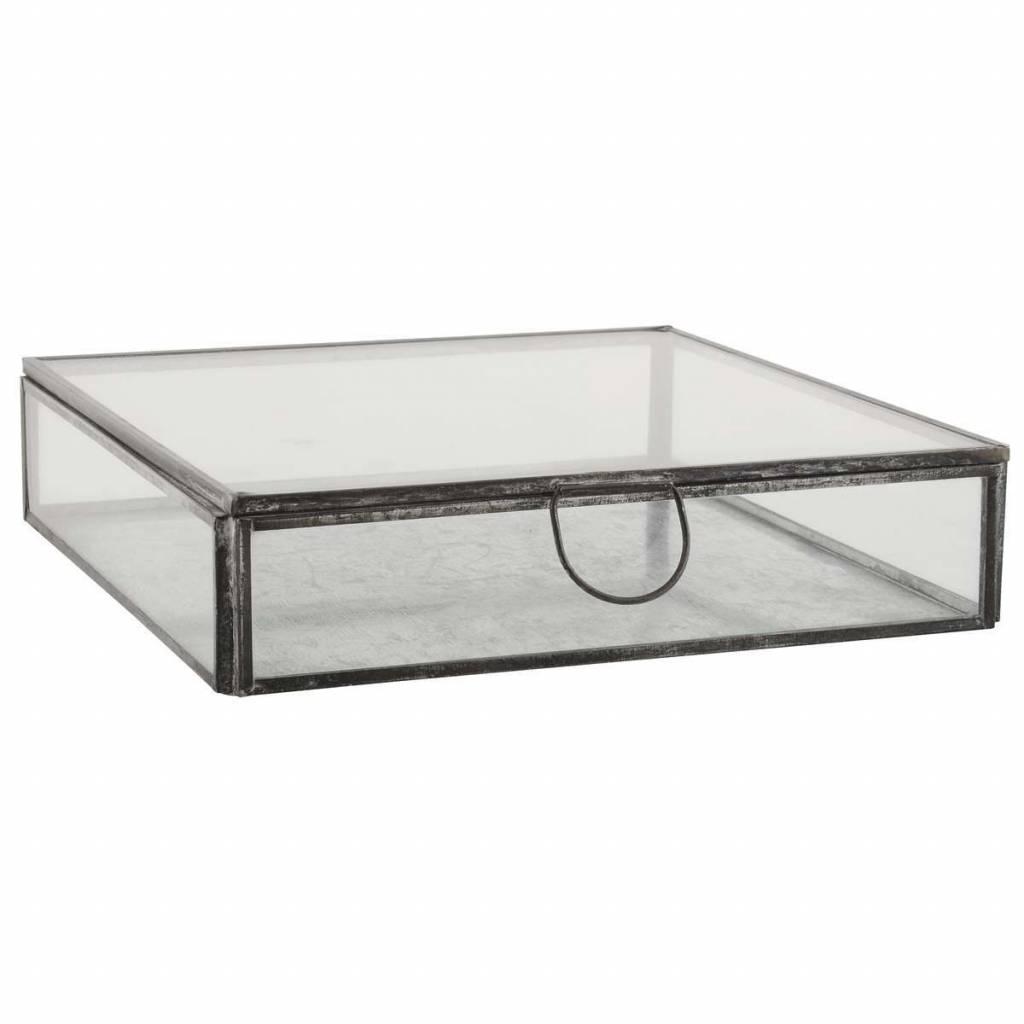 Ib Laursen Glass Box Black