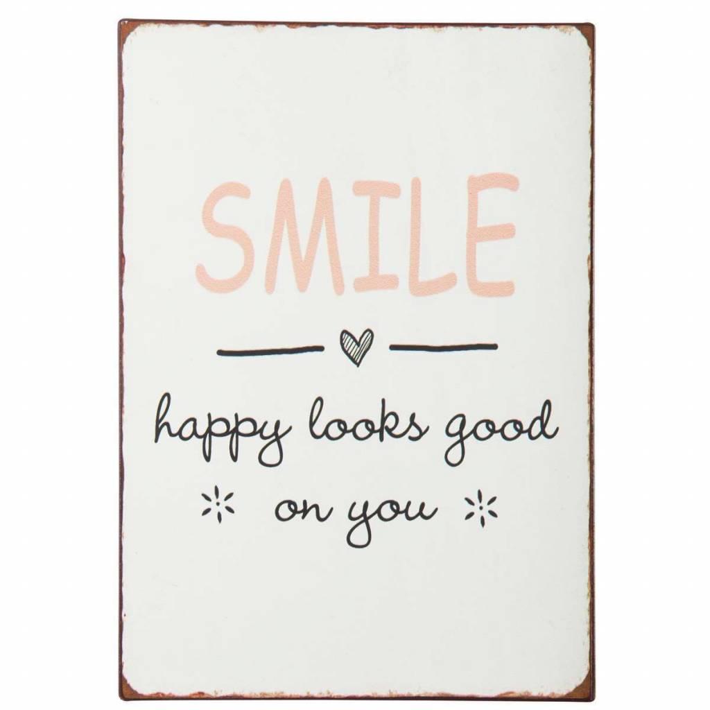 Ib Laursen Sign - Smile