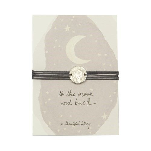 a Beautiful Story JP00001 - Jewelry postcard Moon