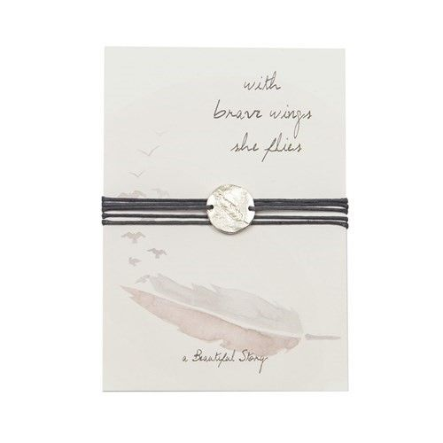 a Beautiful Story JP00006 - Jewelry postcard Feather