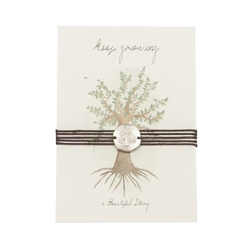 a Beautiful Story JP00007 - Jewelry postcard Tree