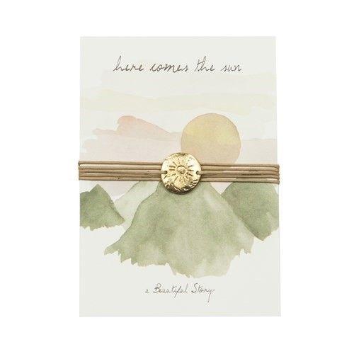 a Beautiful Story JP00009 - Jewelry postcard Sun
