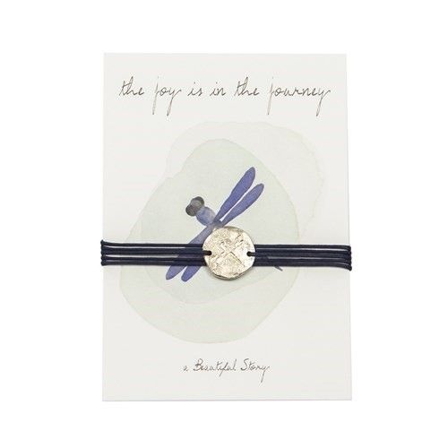 a Beautiful Story JP00011 - Jewelry postcard Dragonfly