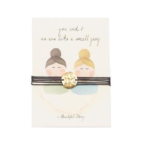 a Beautiful Story JP00016 - Jewelry Postcard Friends