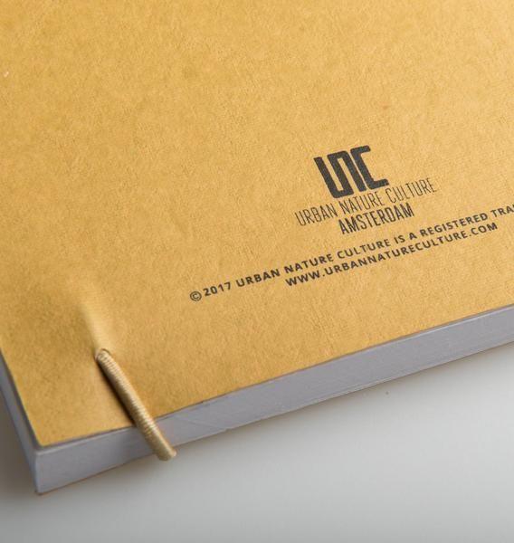 UNC URBAN NATURE CULTURE AMSTERDAM Notebook gold 3D