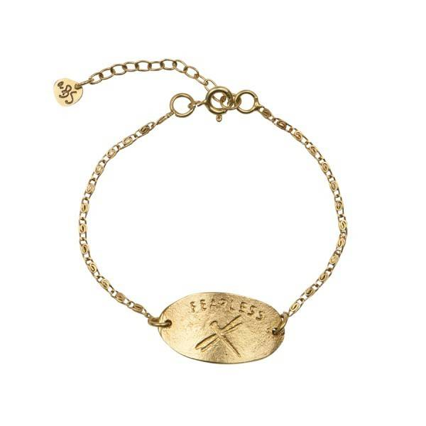 a Beautiful Story Wish Dragonfly Gold Bracelet