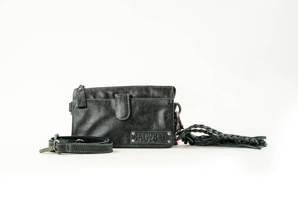 Bag2Bag Dover handige clutch / tasje Black
