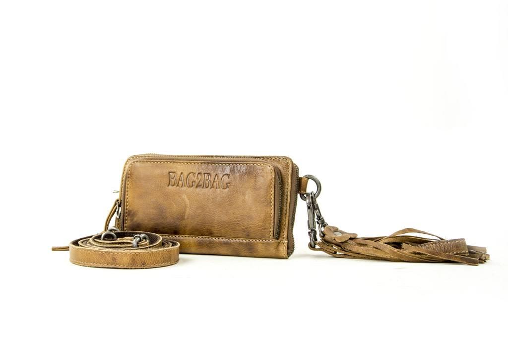Bag2Bag tennessee bag / wallet bruin