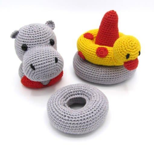 Hardicraft Haakpakket Helga Nijlpaard